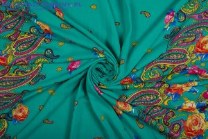 Viscose Colorful Summer Pattern